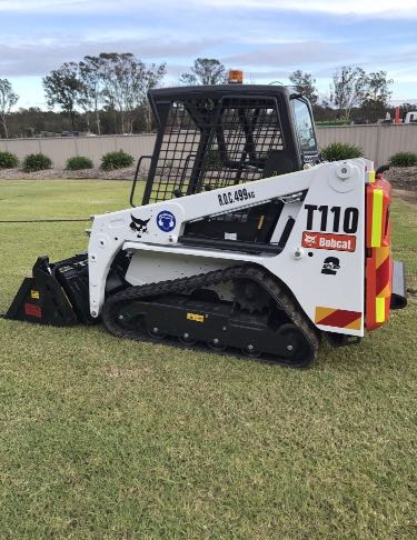 Hire Bobcat T110 only 1200mm wide including trailer
