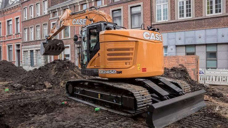 Hire 23t Minimum Swing Excavator