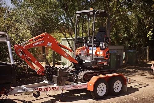 Hire 1.7 Kubota Mini Excavator