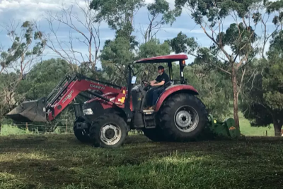Hire 75HP Tractor