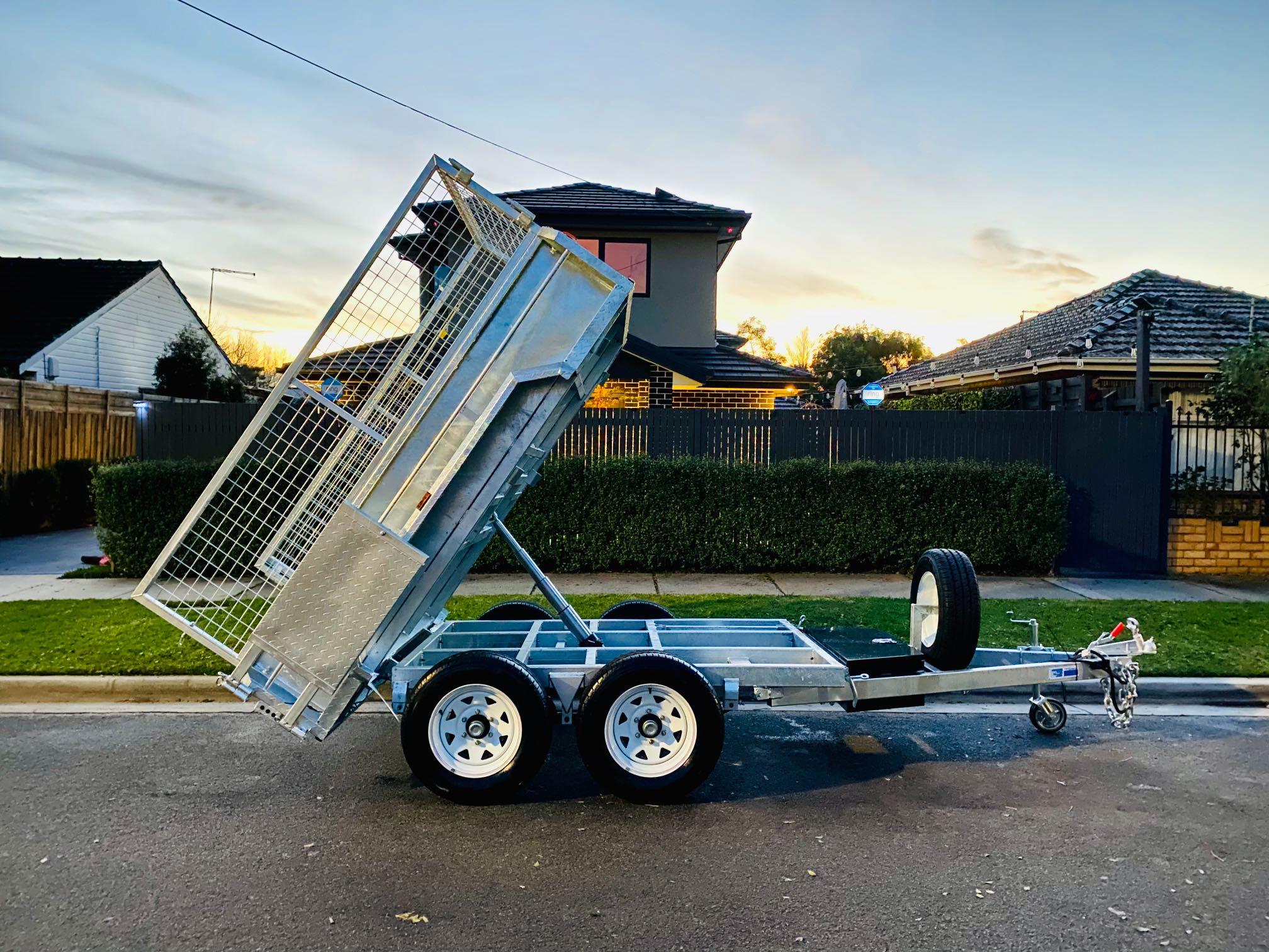 Hire Hydraulic Tipper Trailer - Heavy Duty!