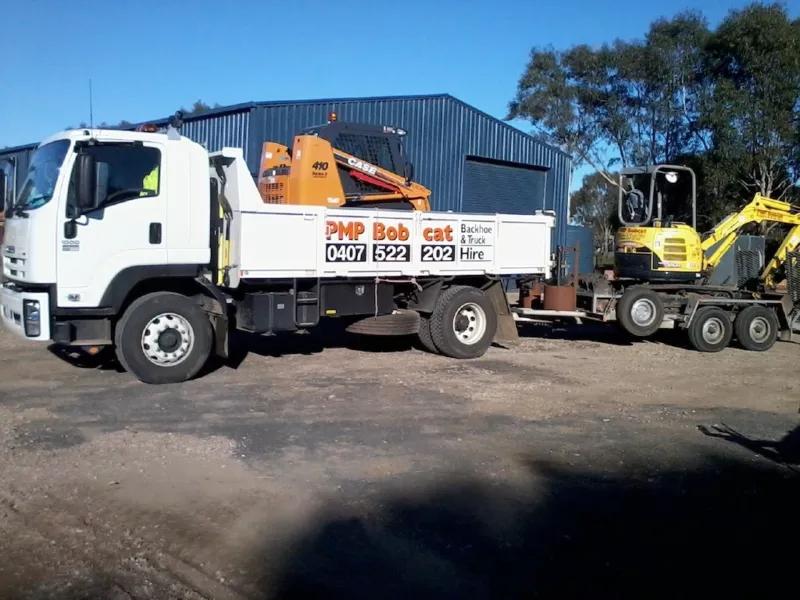 Hire Combo - Bobcat, Excavator and Tipper Truck