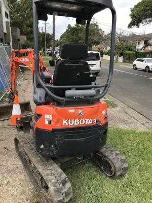 Hire Mini excavator
