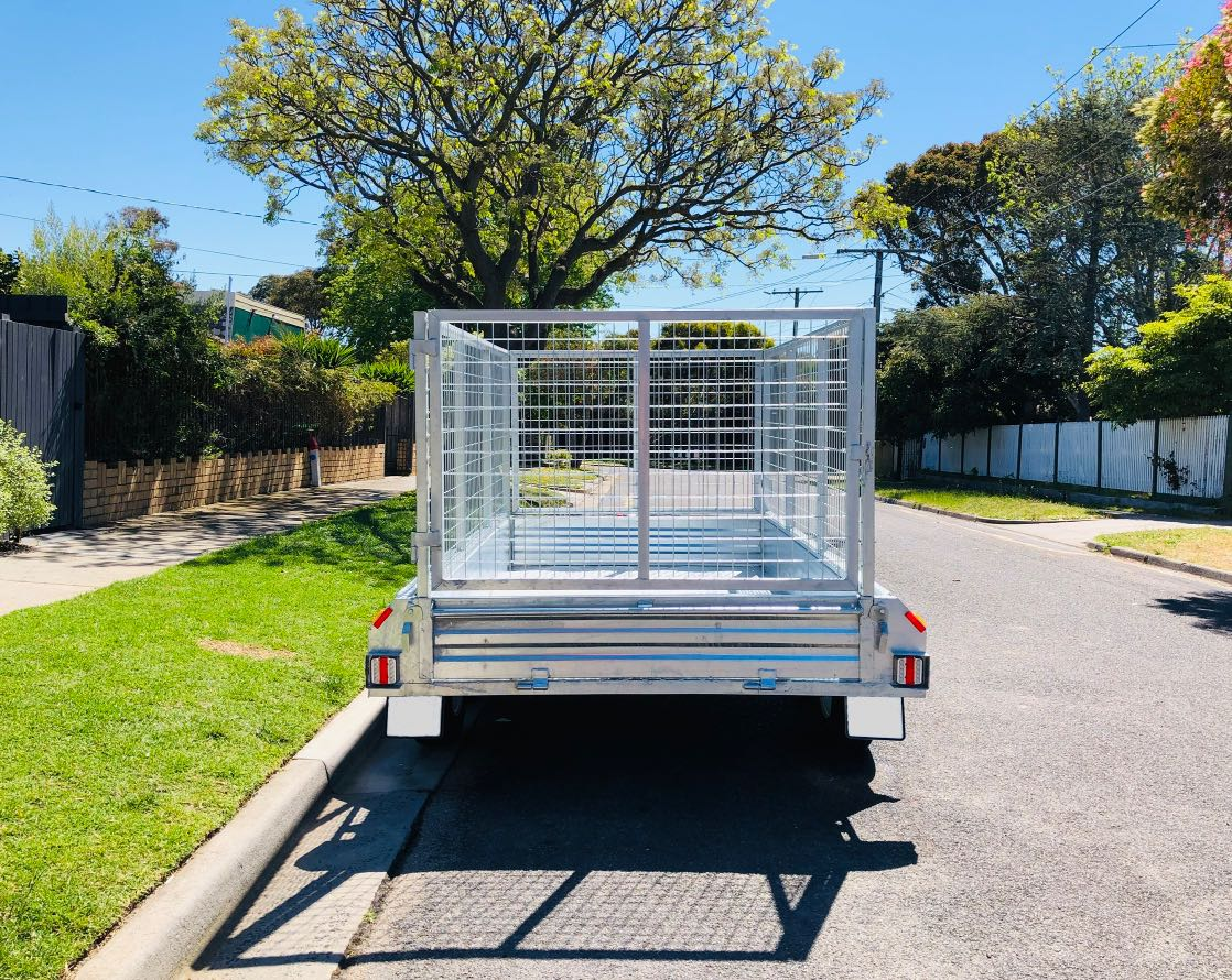 Hire 9x5 Tandem Caged Trailer (2t)