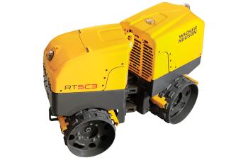 Hire 1.5 tonne Articulated Trench Roller