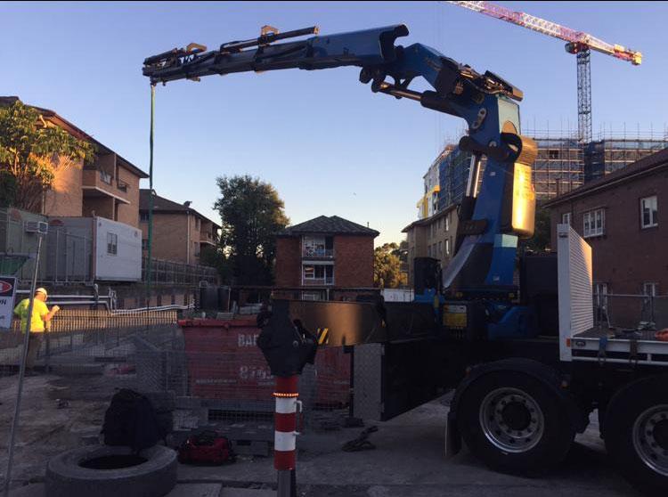 Hire 14 Tonne Crane Truck