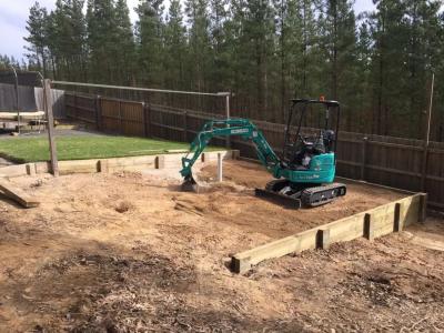 Hire 1.7T Kobelco Mini Excavator