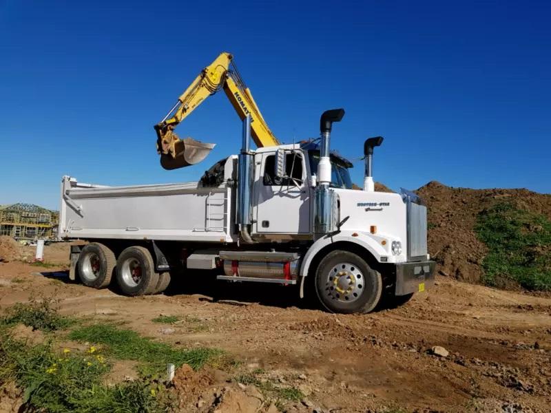 Hire Bogie Tipper Truck