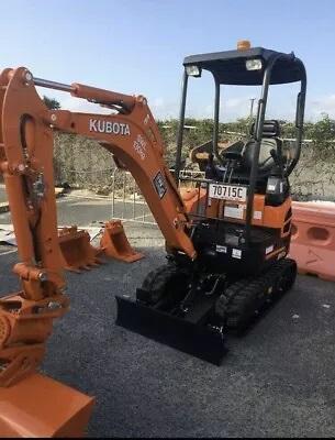 Hire 1.7 Tonne Zero Swing Kubota Mini Excavator