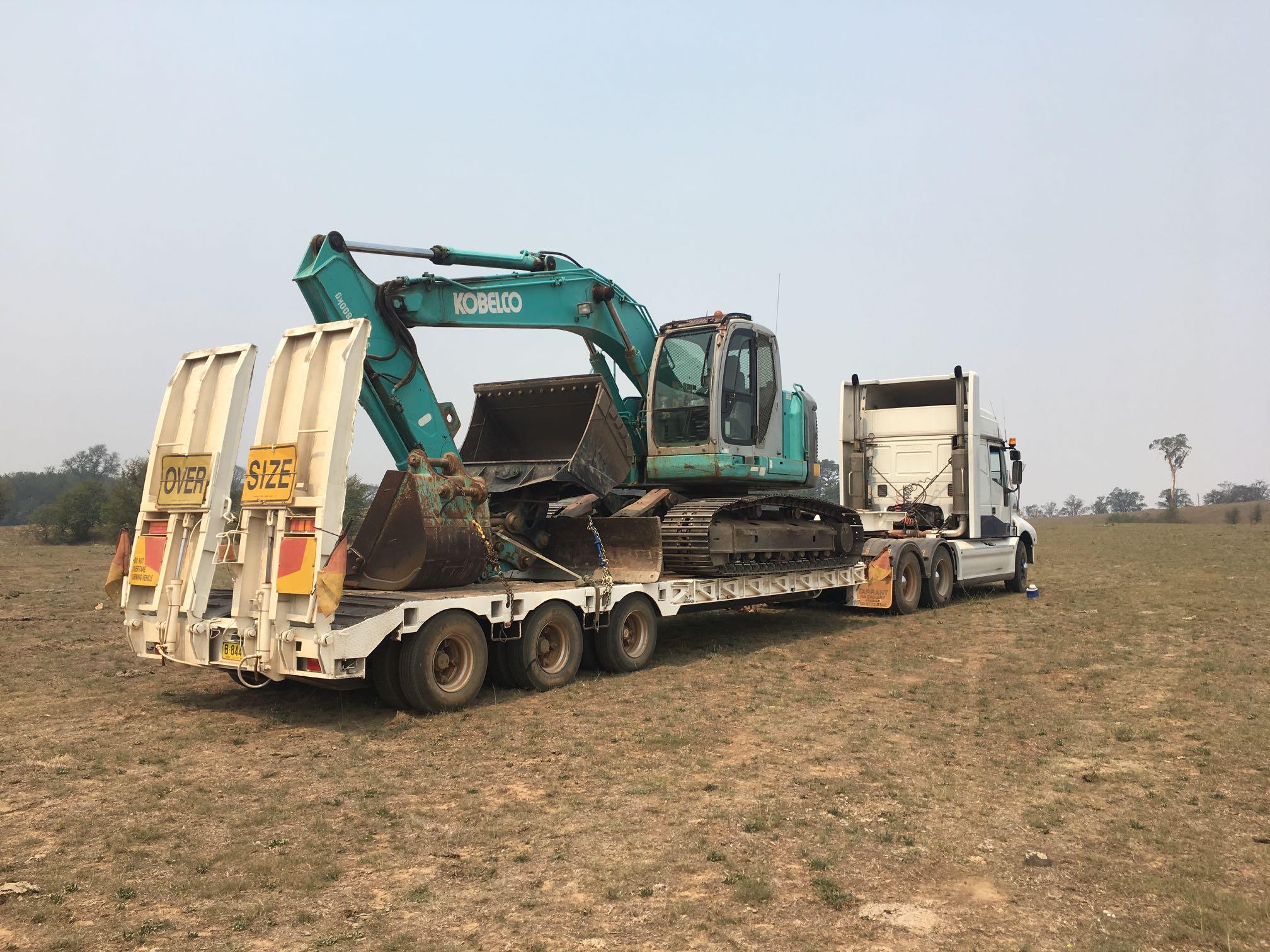 Hire 20 ton Excavator