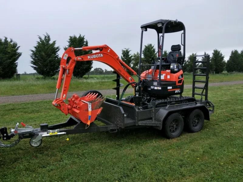 Hire Kubota U17-3 Mini Excavator
