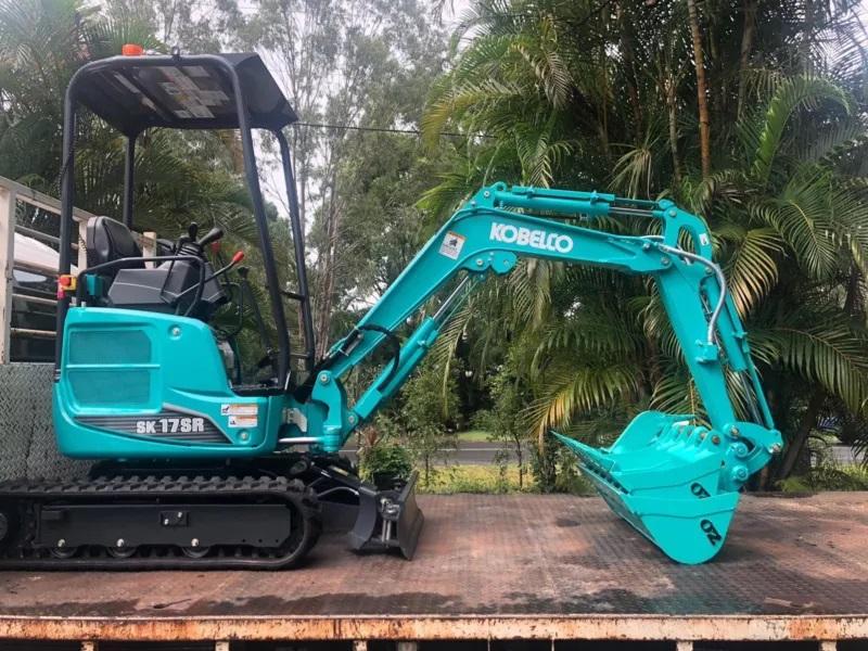 Hire Kobelco 1.7T Mini excavator