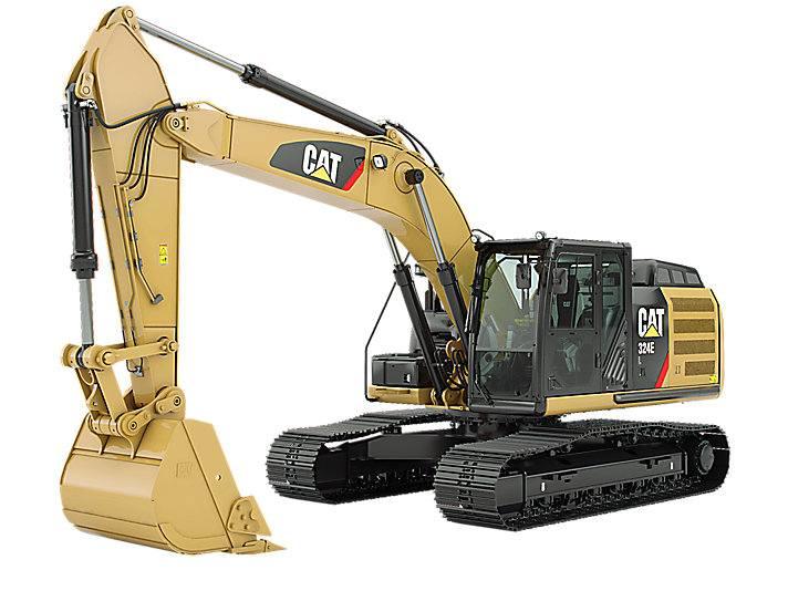 Hire Caterpillar 312d 12 tonne excavator + three buckets
