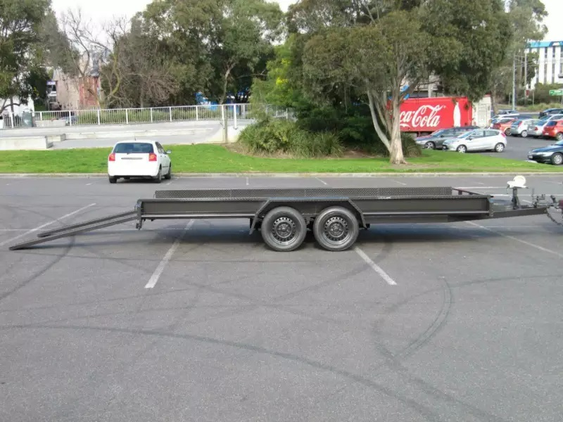 Hire Large Car Carrier Trailer 16 x 6 Tandem Towing