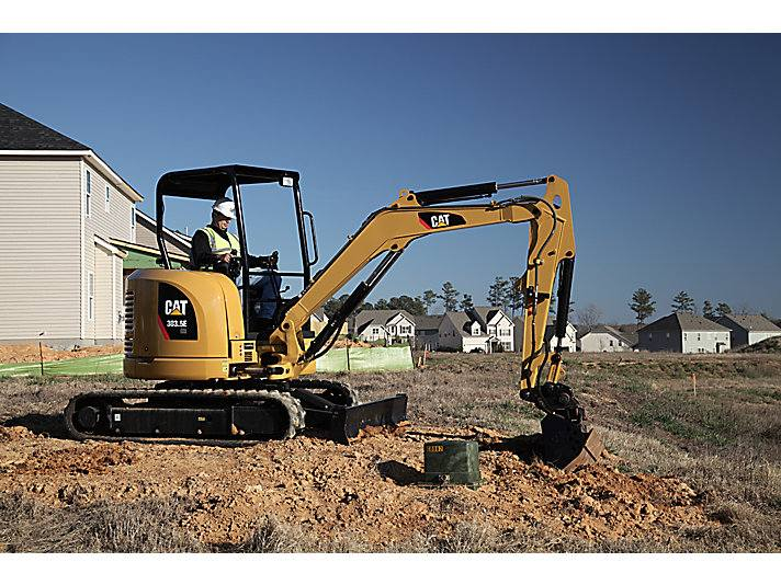 Hire 3.5 tonne zero swing excavator + three buckets