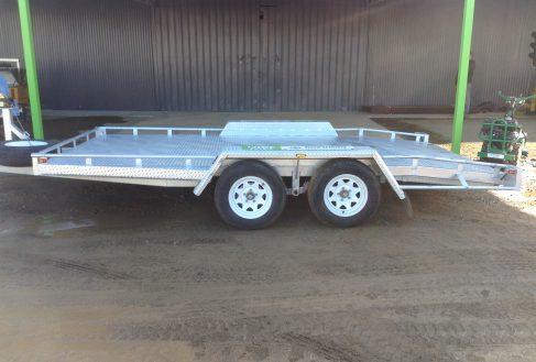 Hire Car Trailer - Flat tray