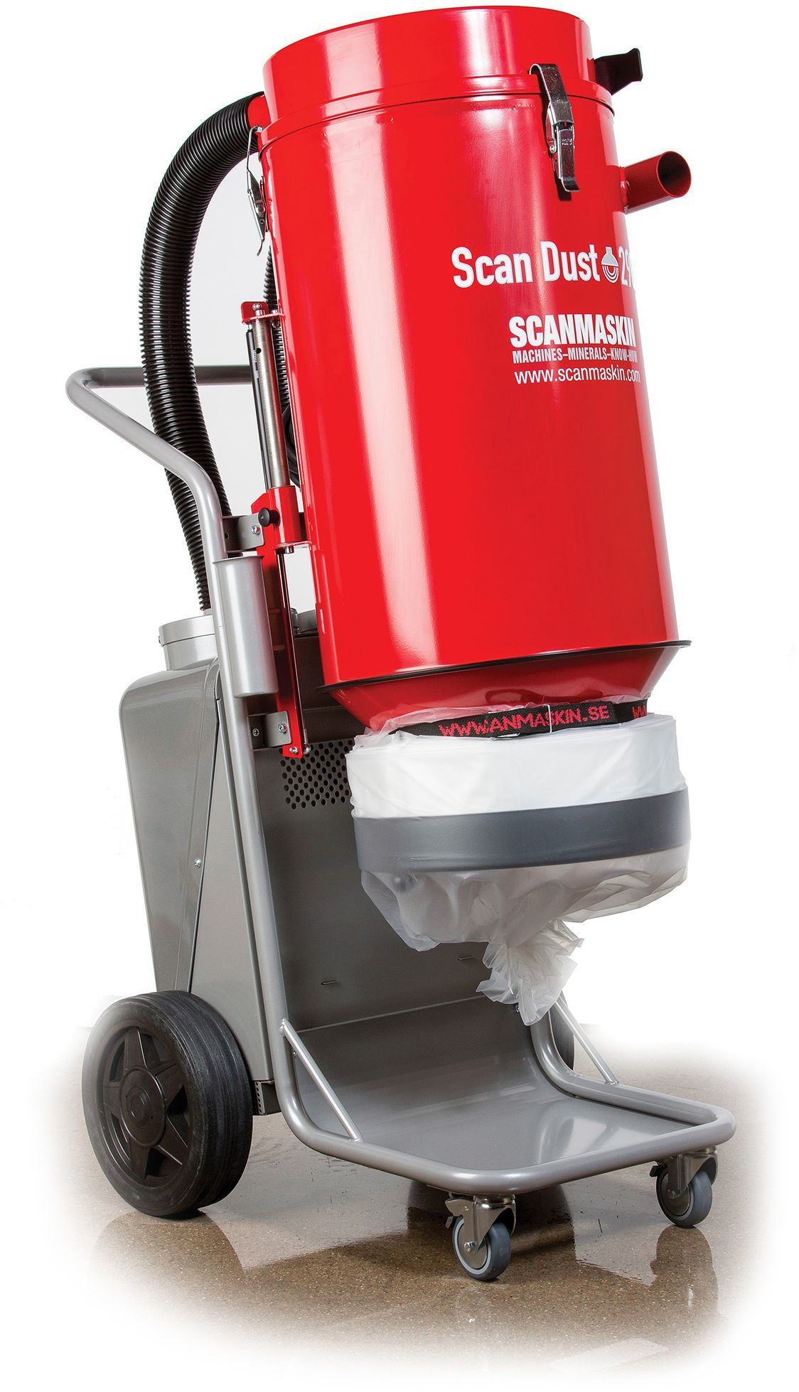 Hire Industrial Vacuum - Dust Collector