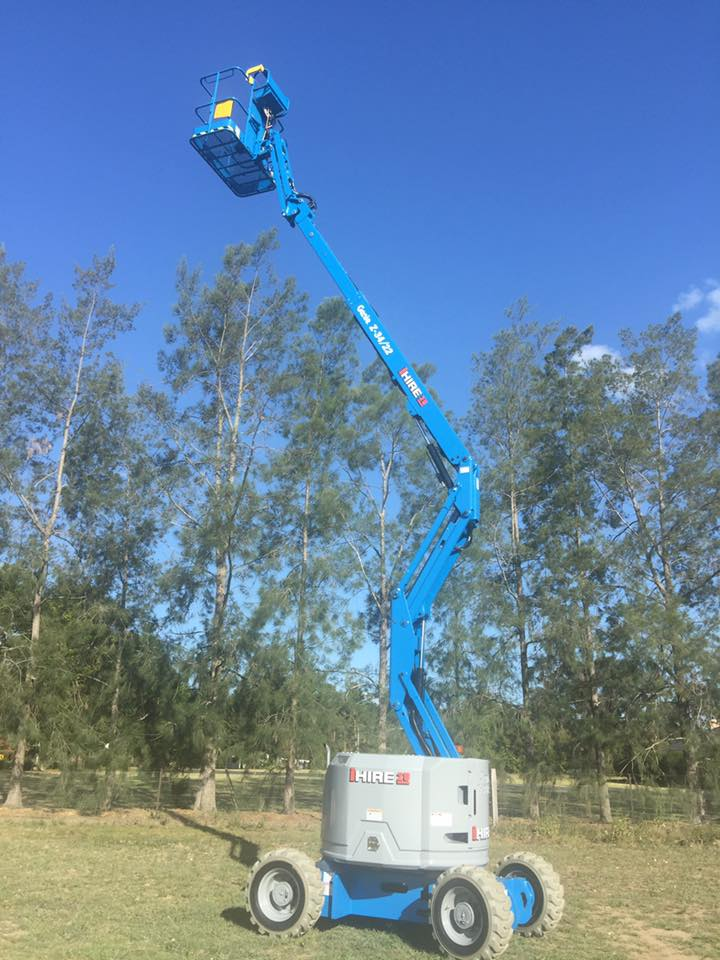 Hire Knuckle Boom Lift