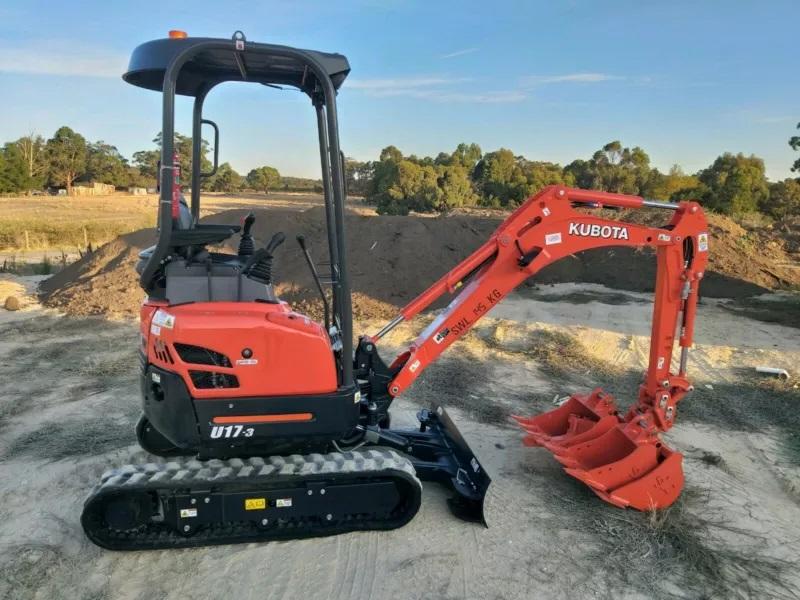 Hire 2019 Kubota 1.7 Ton Excavator