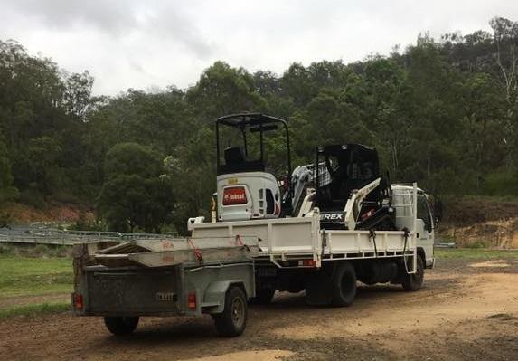 Hire Combo - 2T Excavator, Posi Track + Tipper