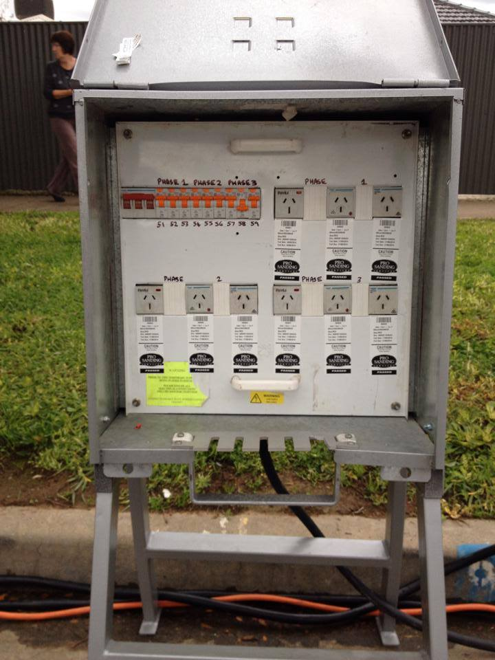 Hire Distribution Boxes & Boards