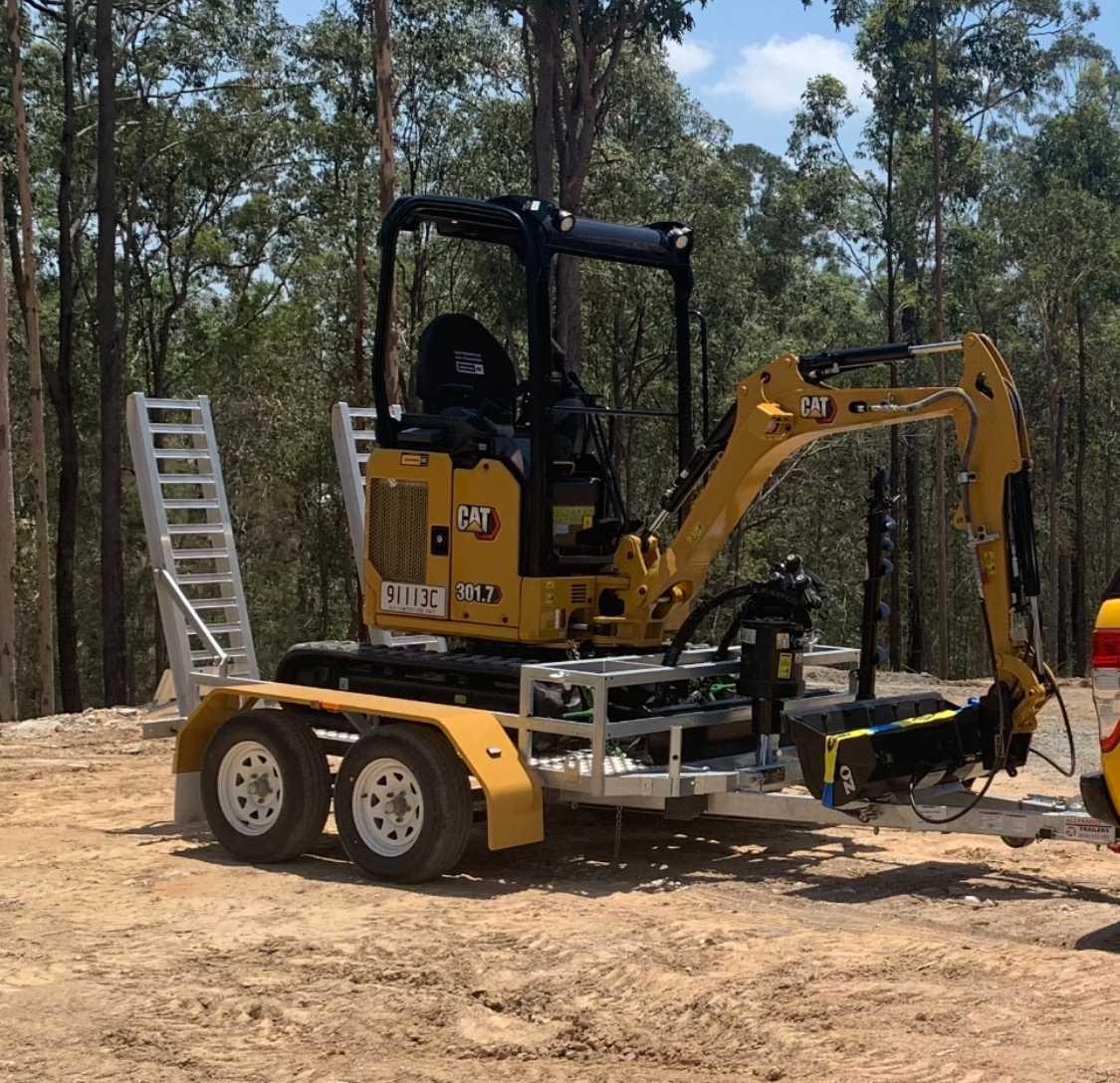 Hire Caterpillar 1.7t Next Gen Excavator