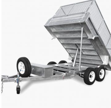 3.5T HYDRAULIC TIPPER TRAILER for dry hire - Guanaba, Maudsland, Clagiraba, Mount Nathan, Nerang, Clagiraba, Advancetown, Nerang in Gold Coast