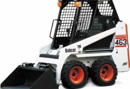 Hire Bobcat 463 / S70 Mini Skidsteer