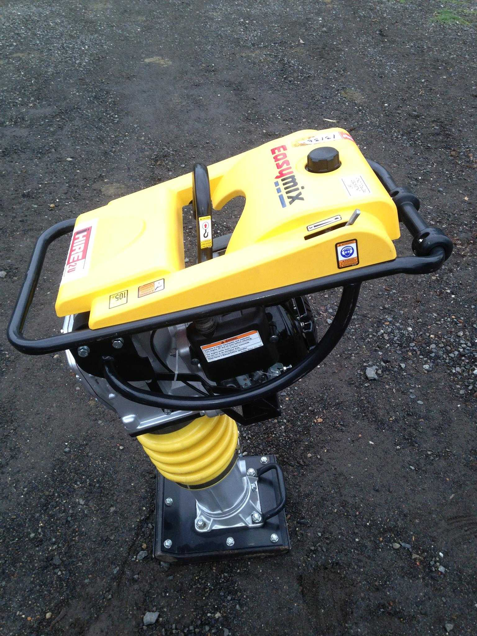 Hire Compactor Rammer
