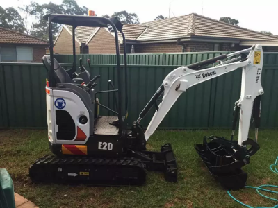 Hire Bobcat E20 Mini Excavator