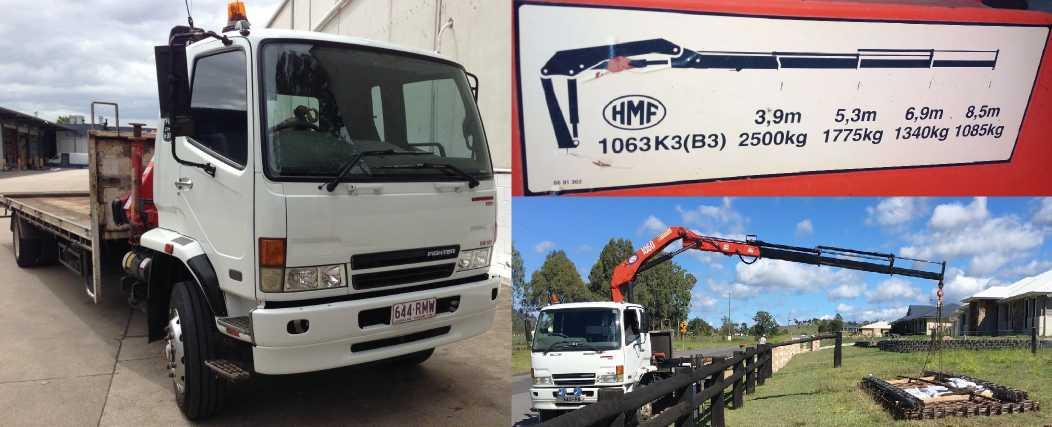 Hire 6 ton Crane Truck