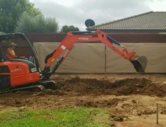 Hire 1.7 T excavator