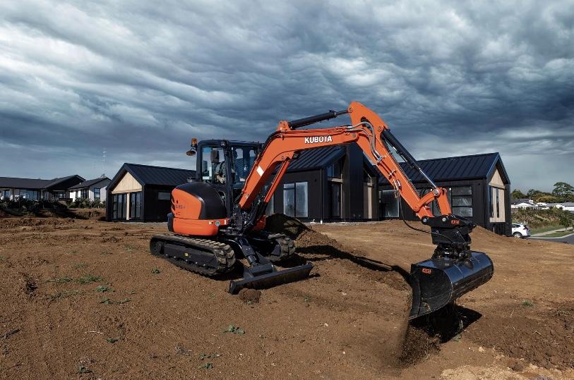 Kubota 3.7 Tonne Mini Excavator Hire