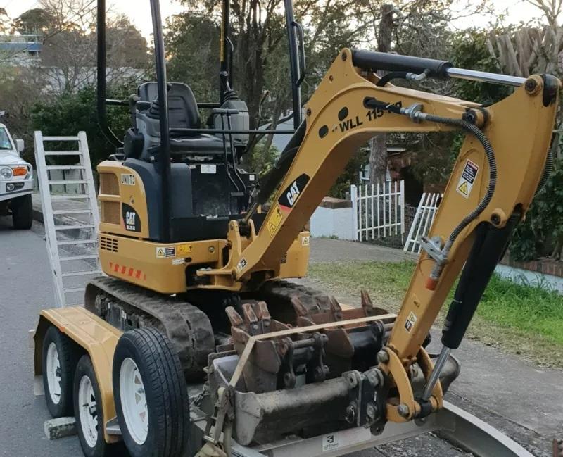Hire 1.7t Excavator CAT 301.7D