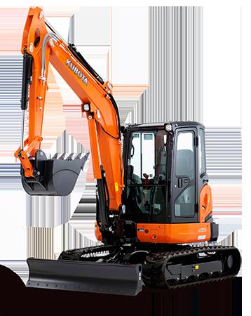 Hire Kubota Excavator 5.5T