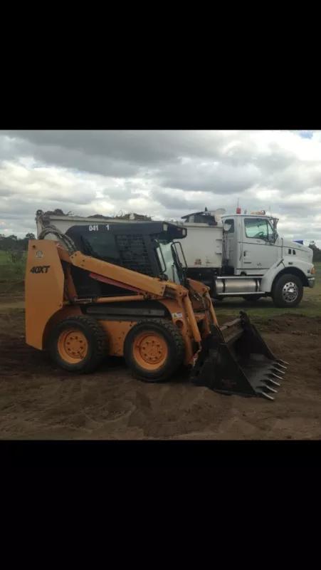 Hire Combo Bobcat and Tipper Truck