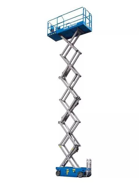 Hire Electric 12 meter scissor lift