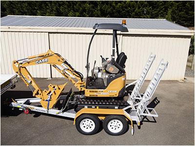 Hire Excavator CX17B (1.7 Tonne)