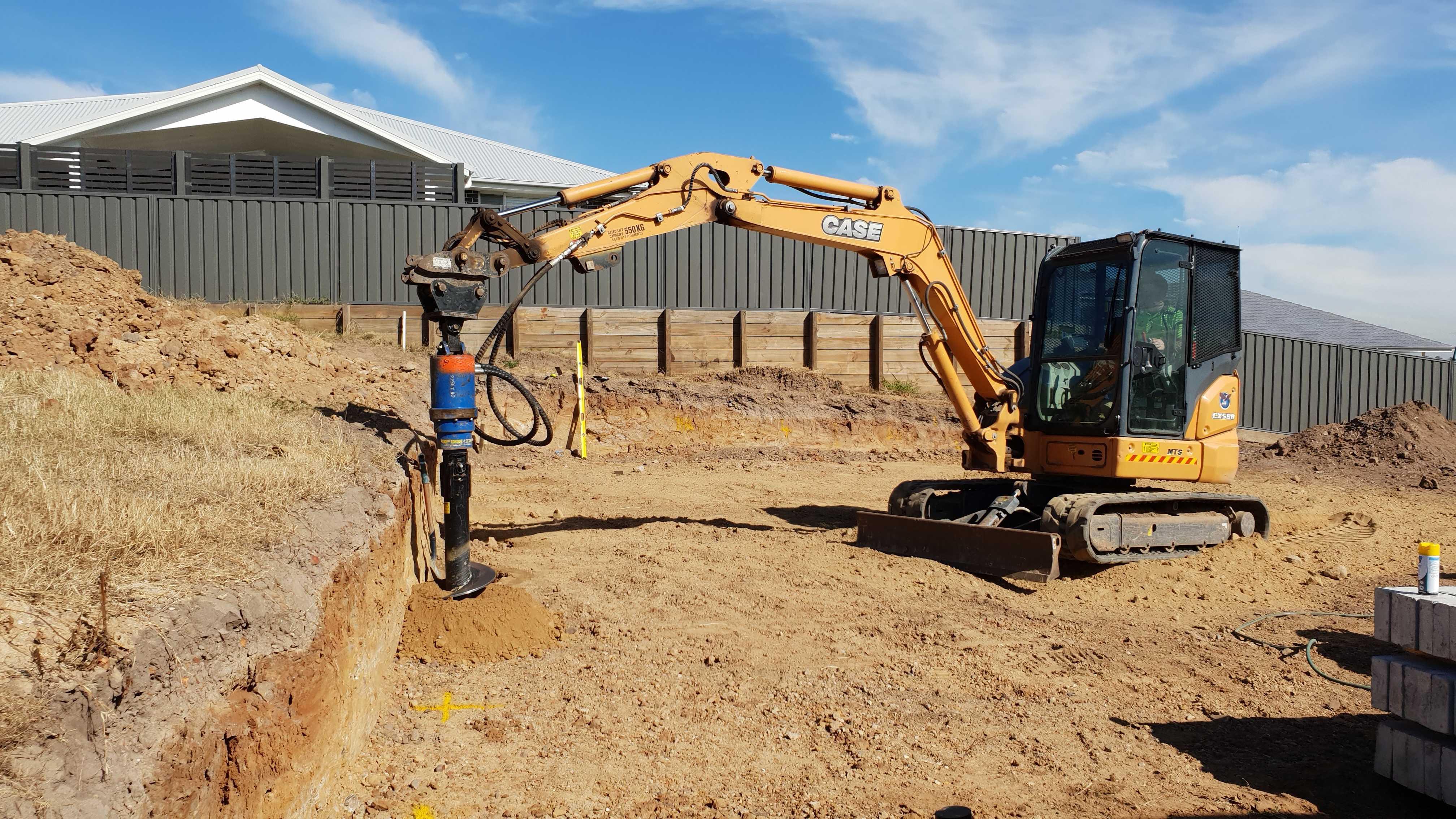 Hire Case CX55B 5.5T Excavator