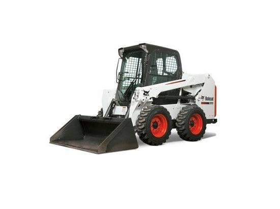 Hire Bobcat 2.7 tonne skid steer loader - 4 in1 bucket