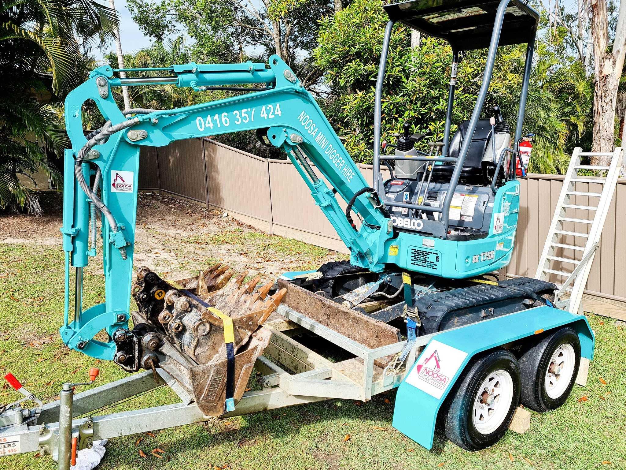 1.7t Mini Excavator Dry Hire