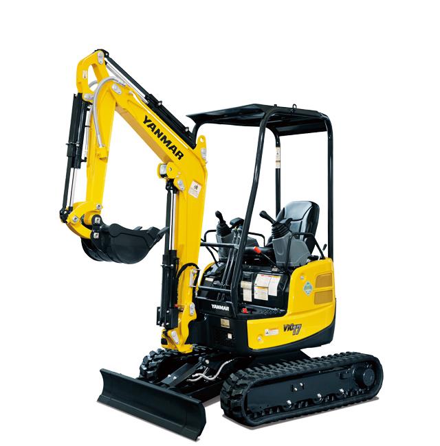 Hire Excavator 1.7 Tonne