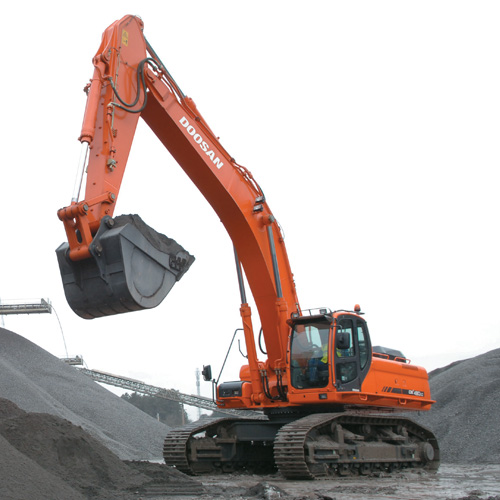 Hire DX480LC Excavator