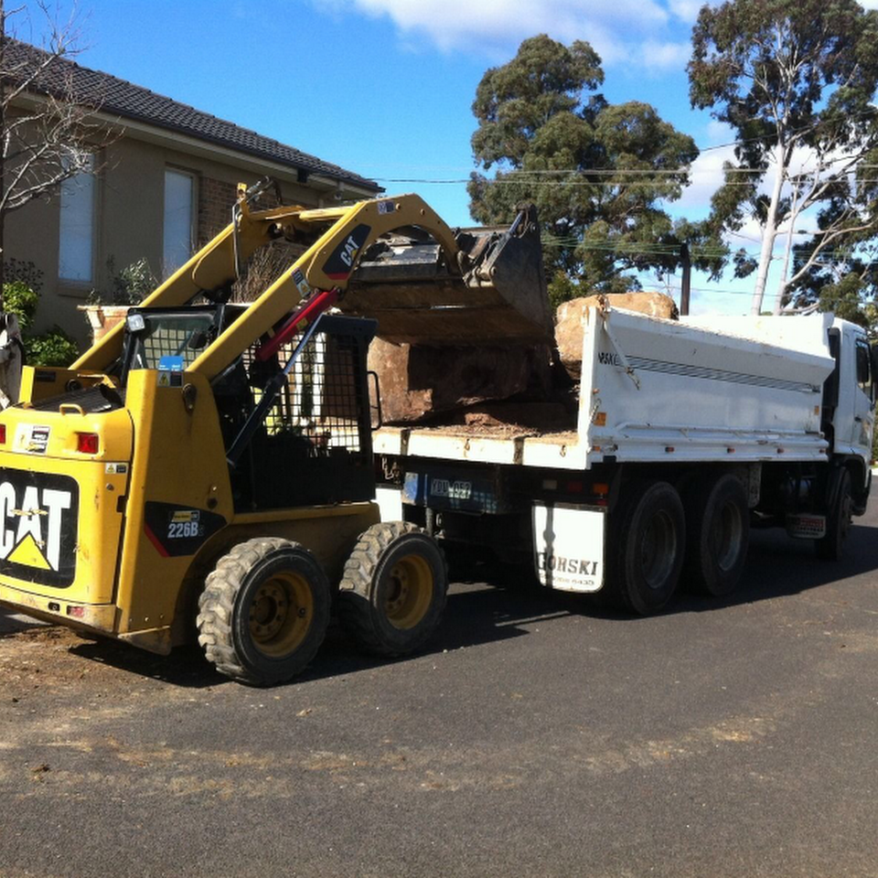 Hire Bobcat with 11 Cubic Tipper Truck