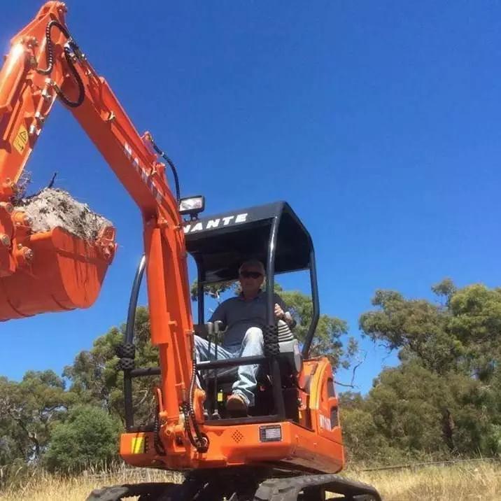 Hire 1.6 Ton Mini Excavator