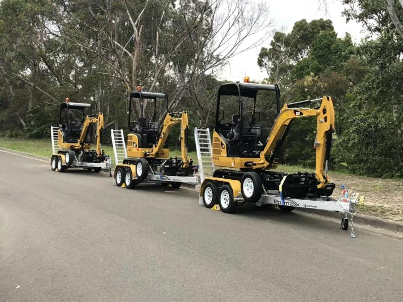 Hire Mini Excavators