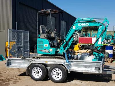 Hire Kobelco 1.7 2019 model excavator