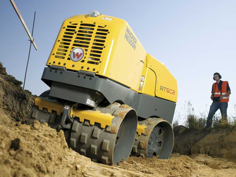 Hire Trench Roller (820mm wide)