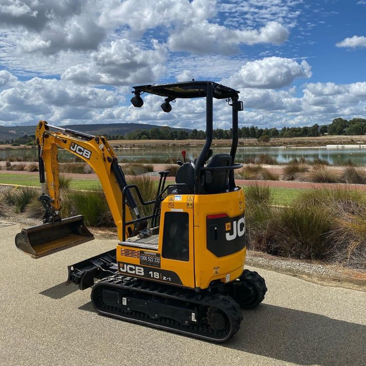 1.8t Mini Excavator Hire - $165 per Day