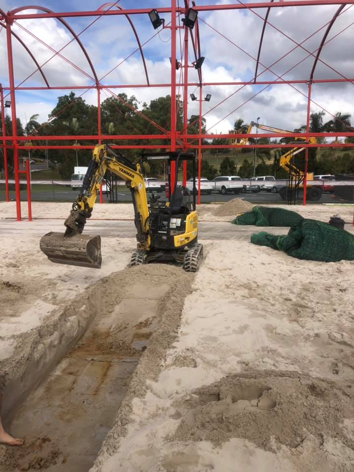 1.7t mini excavator for hire near Ferny Hills